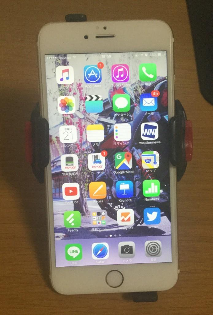 iH-520とiPhone6sPlusのフィッティング